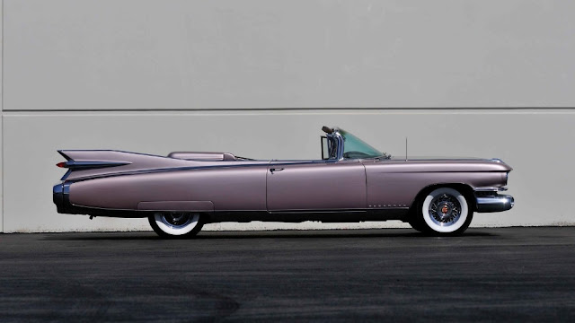 Cadillac Eldorado Biarritz 1950s American classic car