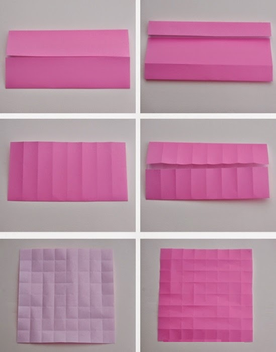 3d origami for kids: kawasaki rose origami instructions | 700x549