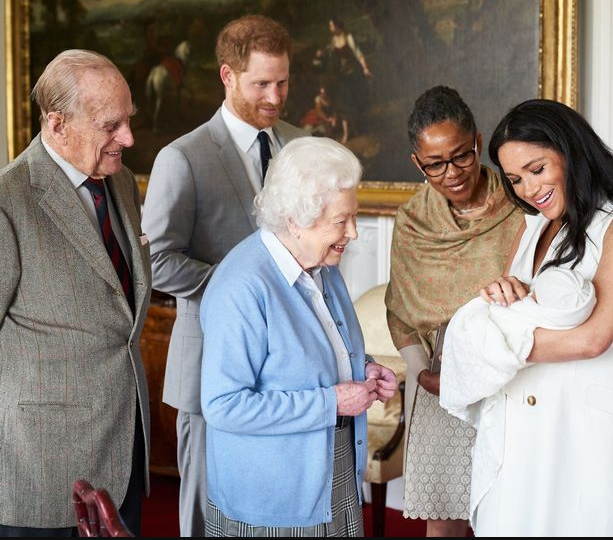 Queen Elizabeth Sends Meghan Markle And Prince Harry Birthday Message As Their Son Archie Turns Two