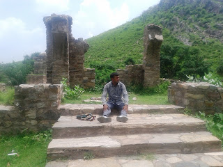 Tomb at Bhangarh Fort