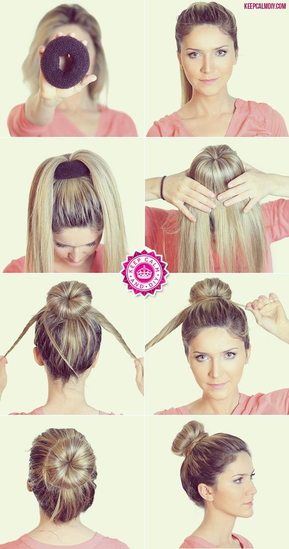 Easy DIY womens hairstyles