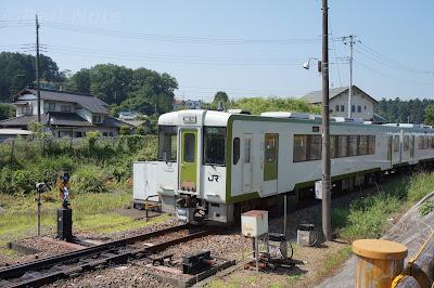 明覚駅八王子側スプリングポイント