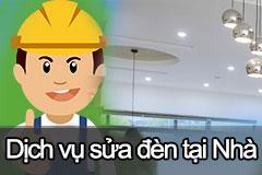 dịch vụ sửa chữa đèn tại nhà