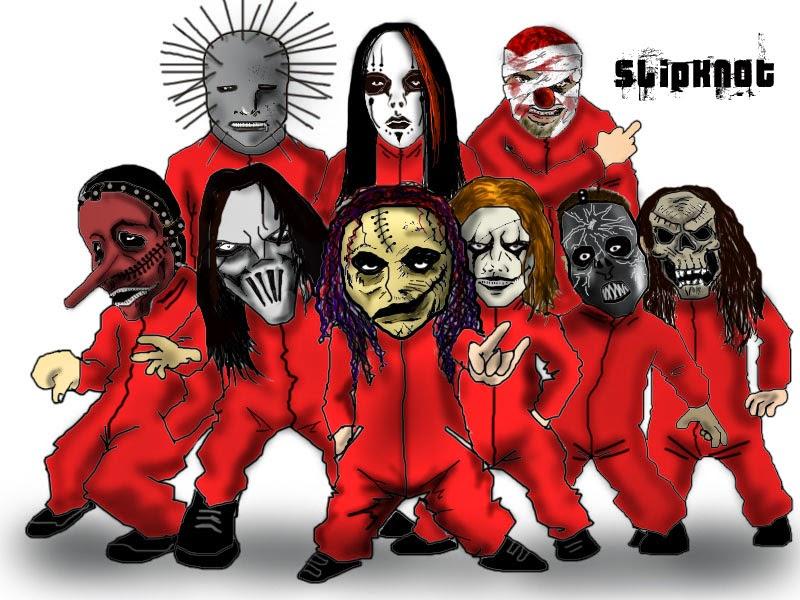 Desenhando Com L 225 Pis Slipknot Metal Arte