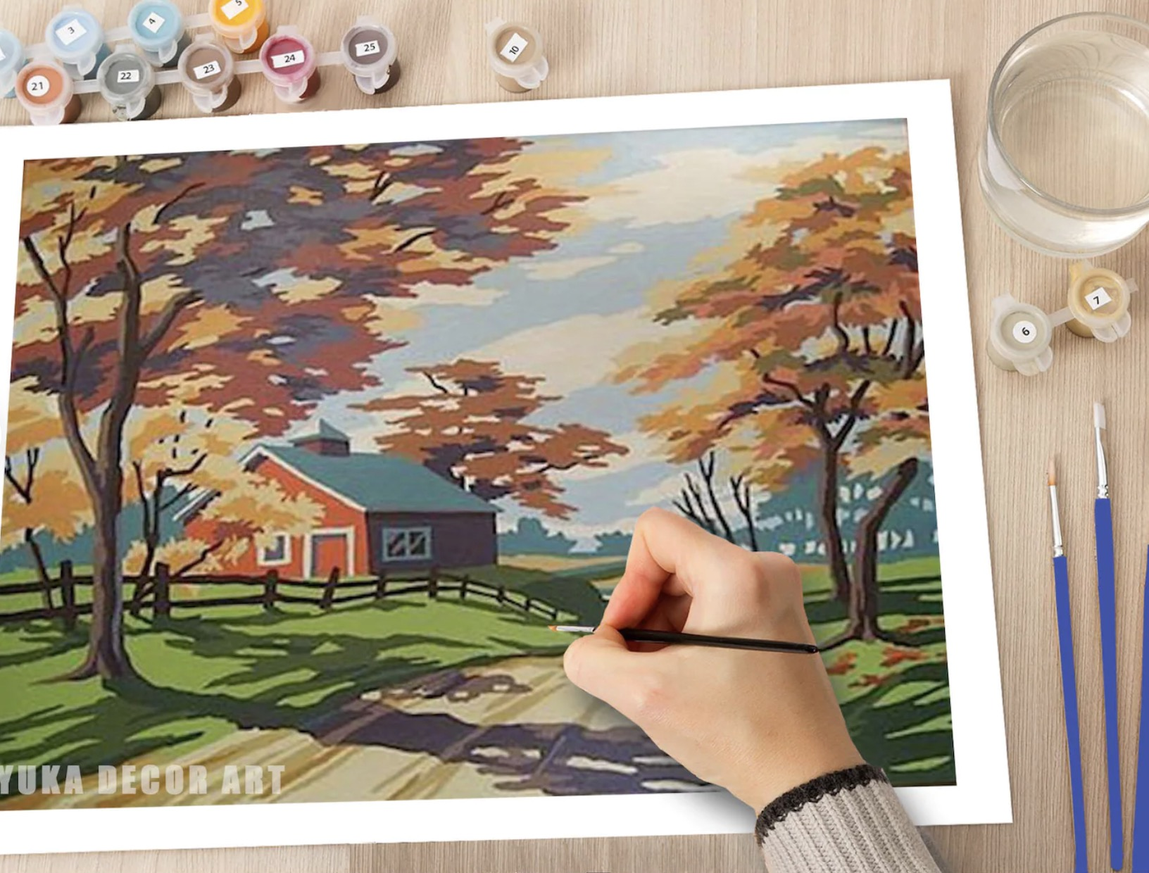 best paint by numbers kits for adults 2021