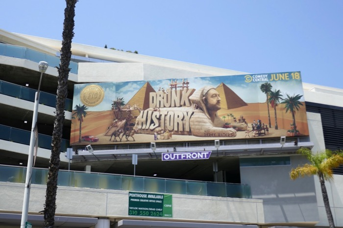 Drunk History Emmy FYC Sphinx billboard