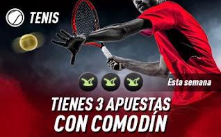 sportium promo Tenis: 3 Apuestas con Comodín
