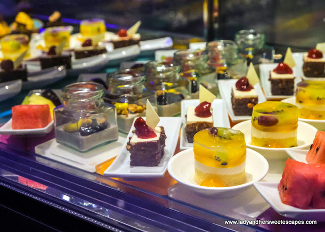 desserts in Medley Pullman Dubai