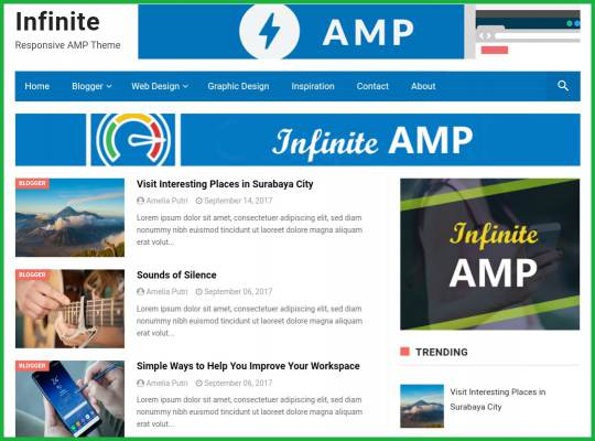InfiniteAMP-AMP-Blogger-Template