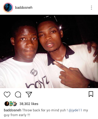 Olamide Throwback Photo