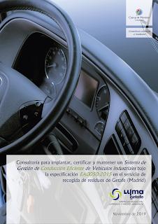 trabajo adjudicado a Cuevas y Montoto Consultores por la empresa municipal LYMA Getafe.