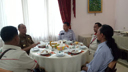 Bupati Tebo Jamu Pengurus DPW JOIN Jambi