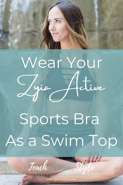 zyia active bras, zyia swim tops