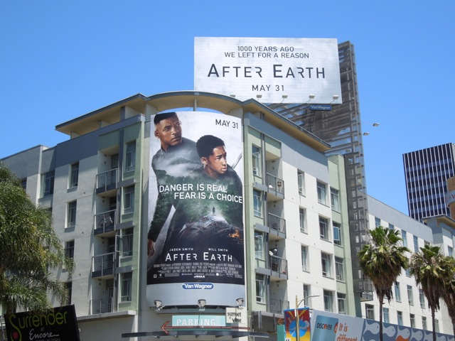After Earth film billboards
