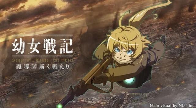 Anime Saga of Tanya the Evil akan Mendapatkan adaptasi Game Smartphone!