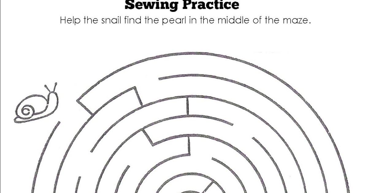 Ideas for FACS teachers: Sewing Worksheets