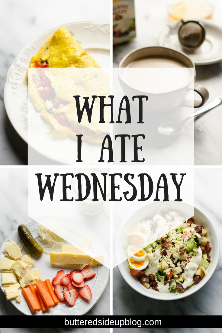 What I Ate Wednesday - come see everything I ate/drank in a day!