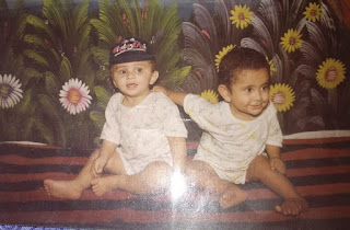 Delhisehu YouTuber Anas Pathan Childhood pic