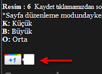Google Sites, +1 düğmesi