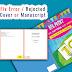 Fix Error Cover or Manuscript