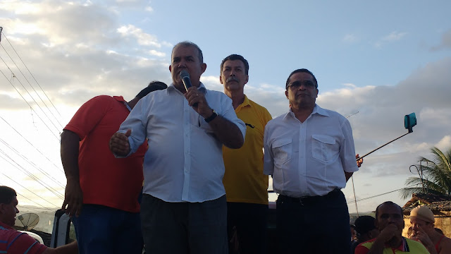 Chico do Agrícola ex-integrante do grupo Gouveia, apoia Lucrécio para à prefeitura