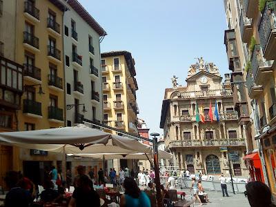 City Hall square / Plaza del Ayuntamiento / Praza do Concello / Author: E.V.Pita