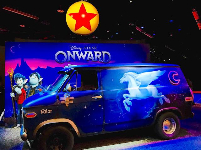 Pixar Guinevere van D23 Expo
