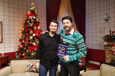 Fernando Morgado e Danilo (Crédito: Gabriel Cardoso/SBT)