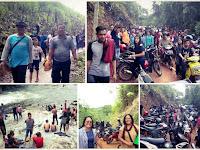 Liburan Tahun Baru, Wisata Batu Jato Pantok Diserbu Ribuan Pengunjung