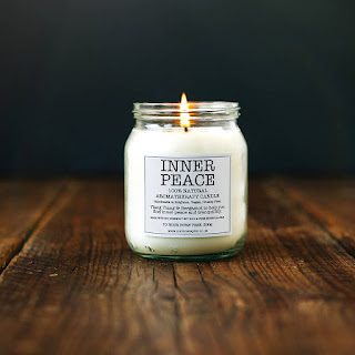 soy candle, interiors, lifestyle