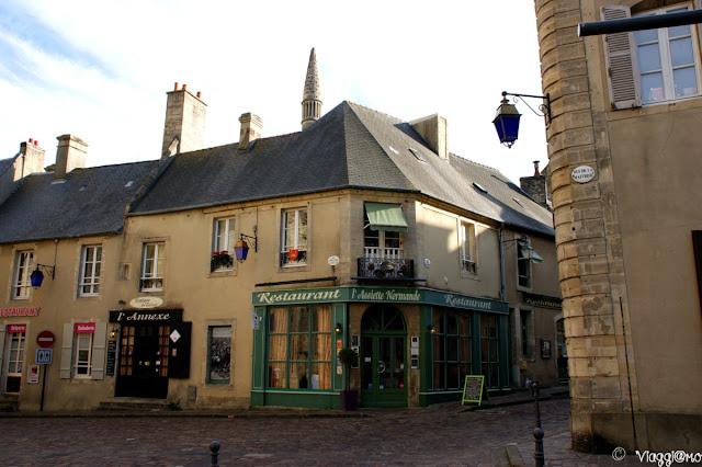 Una via del centro storico di Bayeux