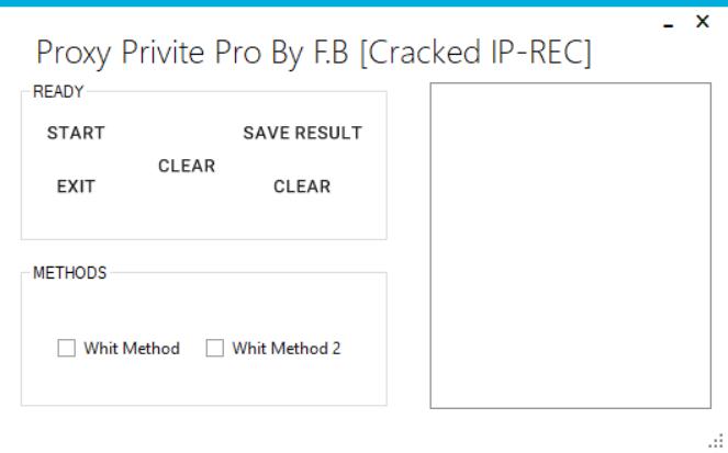 AliInfo cf: PROXY PRIVITE PRO BY F B [Cracked IP-REC]