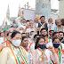भारत बंद हाकेला सर्वपक्षीय संघटना एकत्र  - शिवसेना कार्यकर्त्यांची मात्र पाठ