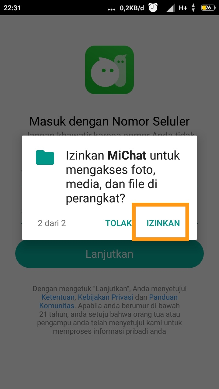 michat chat web