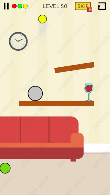 Spill It! Level 50 Walkthrough, Solution, Cheats for Android, iPhone, iPad and iPod