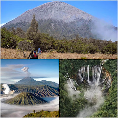 Semeru hiking, Mount Bromo, Tumpak Sewu Waterfall tour