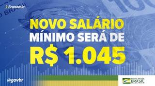 Salário mínimo 1.045