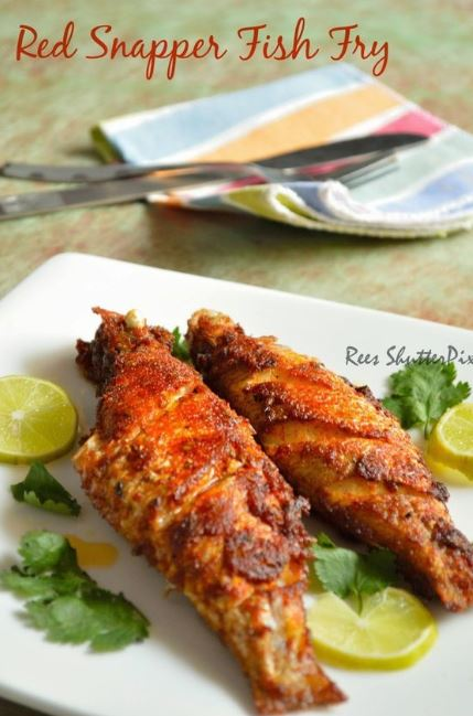 Red Snapper Fish Fry