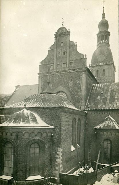 1900-е (?) годы. Рига. Домский собор (W. Mellin)