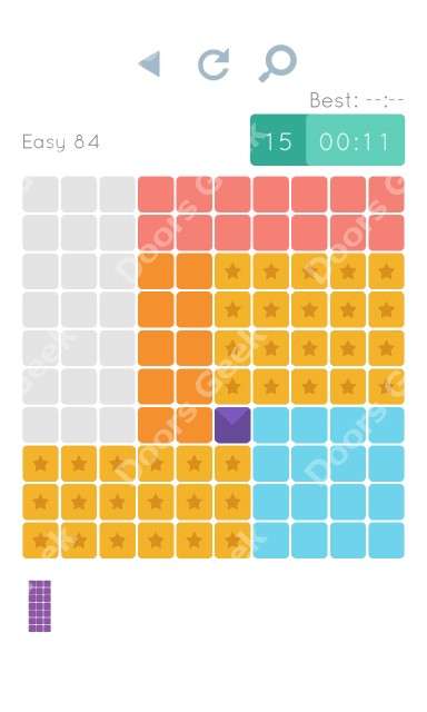 Cheats, Walkthrough for Blocks and Shapes Level 84