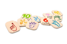 Alternative to Montessori Sandpaper Numbers for those who are hearing impaired.