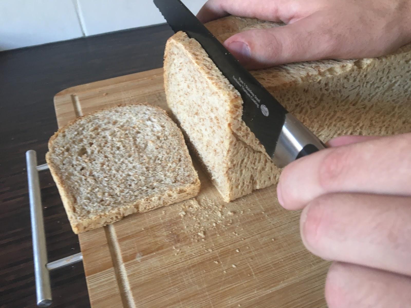 brood snijden met de hand