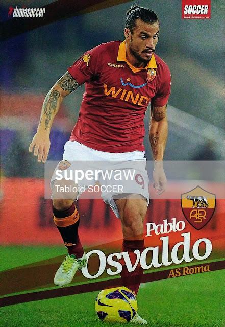 Pablo Osvaldo AS Roma 2012