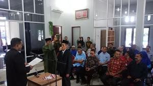 Bupati Aceh Timur Lantik Direksi PDAM Priode 2019-2023