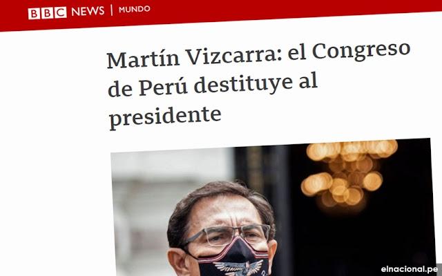 BBC vacancia Martín Vizcarra