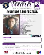 Desaparece empleada del gobierno en Guerrero