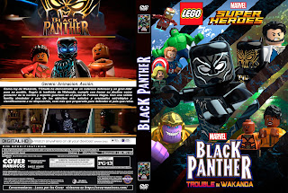 LEGO BLACK PANTHER – 2019 [COVER – DVD]