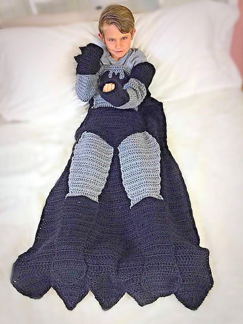 Batman Blanket Crochet pattern