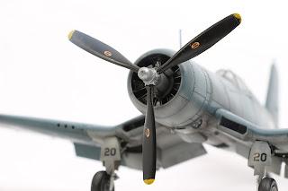 F4U-1 Corsair de Tamiya au 1/48.