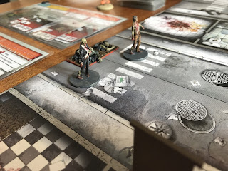 Zombies begin to arrive on the table